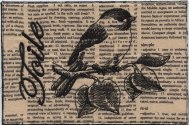 T is for Toile Chickadee, Franki Kohler
