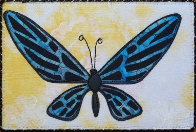 Sue Andrus, R22, Butterfly 1