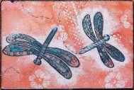 Sue Andrus, R22, Doodled Dragonflies 1