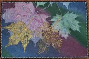 Sue Andrus, Sunprint Leaf