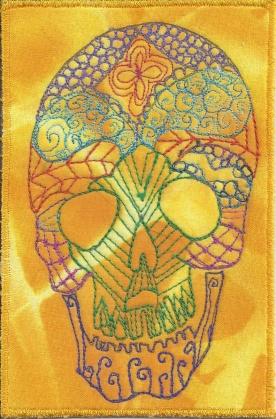 Karen Musgrave, Zentangle Skull