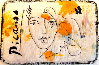 Picasso's face of peace, Sara Kelly