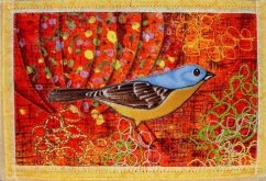 Del Thomas, Bluebird in the Pumpkin Patch
