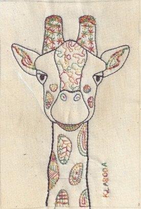 Kay Laboda, Zendoodle Giraffe