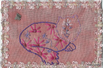 Maureen Curlewis, Hand Stitched 1