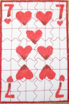 Maureen Egan, 7 of Hearts