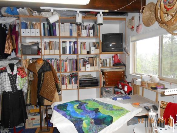 Sandy Wagner studio