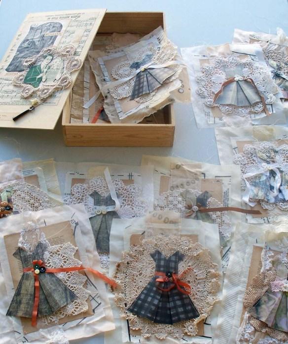 Rita Summers, Agatha's Wardrobe, 12 dresses