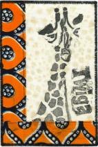Maureen Callahan, Giraffe-Carve Stamps