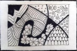 Maureen Egan, R24, Zentangle (1)