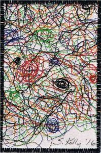 Sara Kelly, R24, In the Style of Jackson Pollock