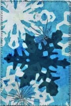 Christine Bostock, R24, Snowflakes 2